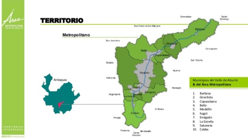 Foto: Área Metropolitana Valle de Aburrá