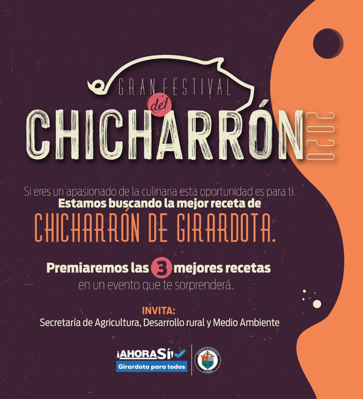 Girardota realizará el primer festival del Chicharrón