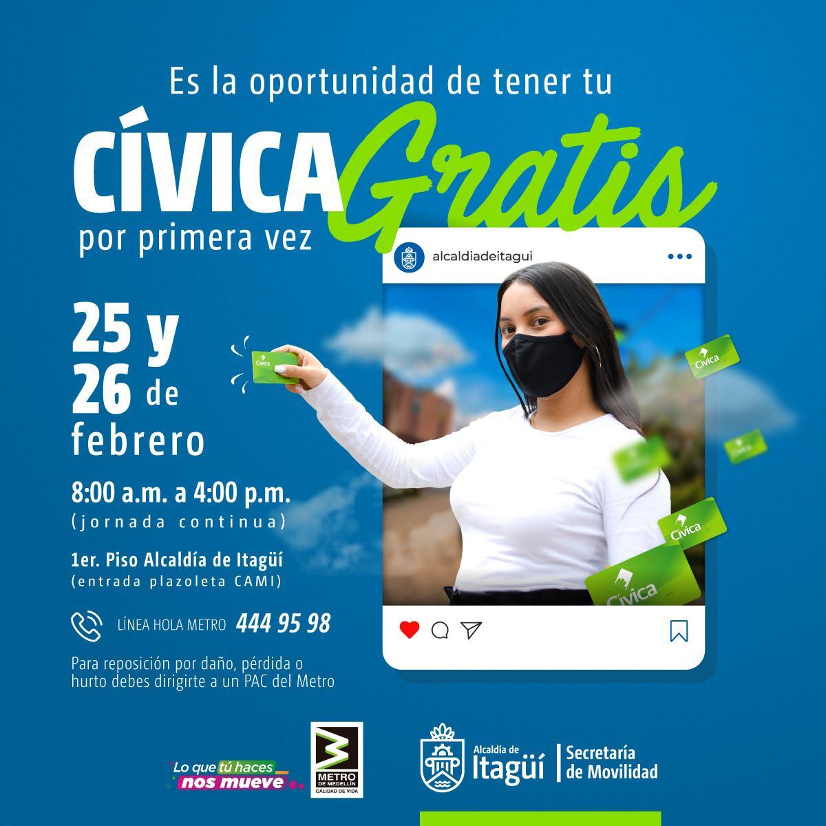 civica itagui ElMetro.com.co