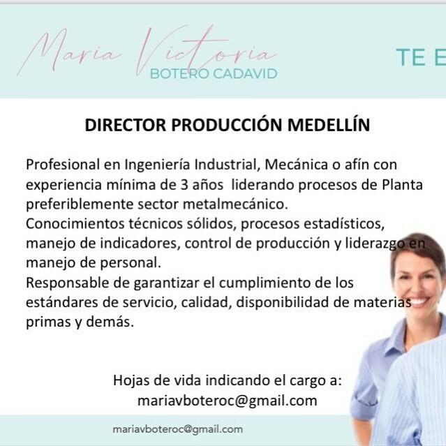 ofertas empleo medellin
