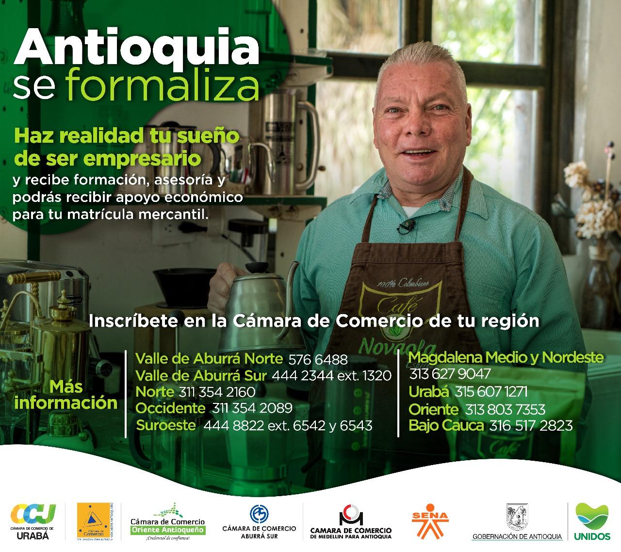 antioquia se formaliza ElMetro.com.co