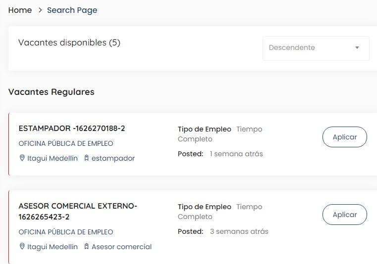 Oficina publica de empleo1 ElMetro.com.co